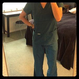 TEAL Grey's Anatomy Scrubs